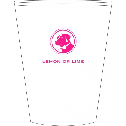 Lemon or Lime Cocktail Cups